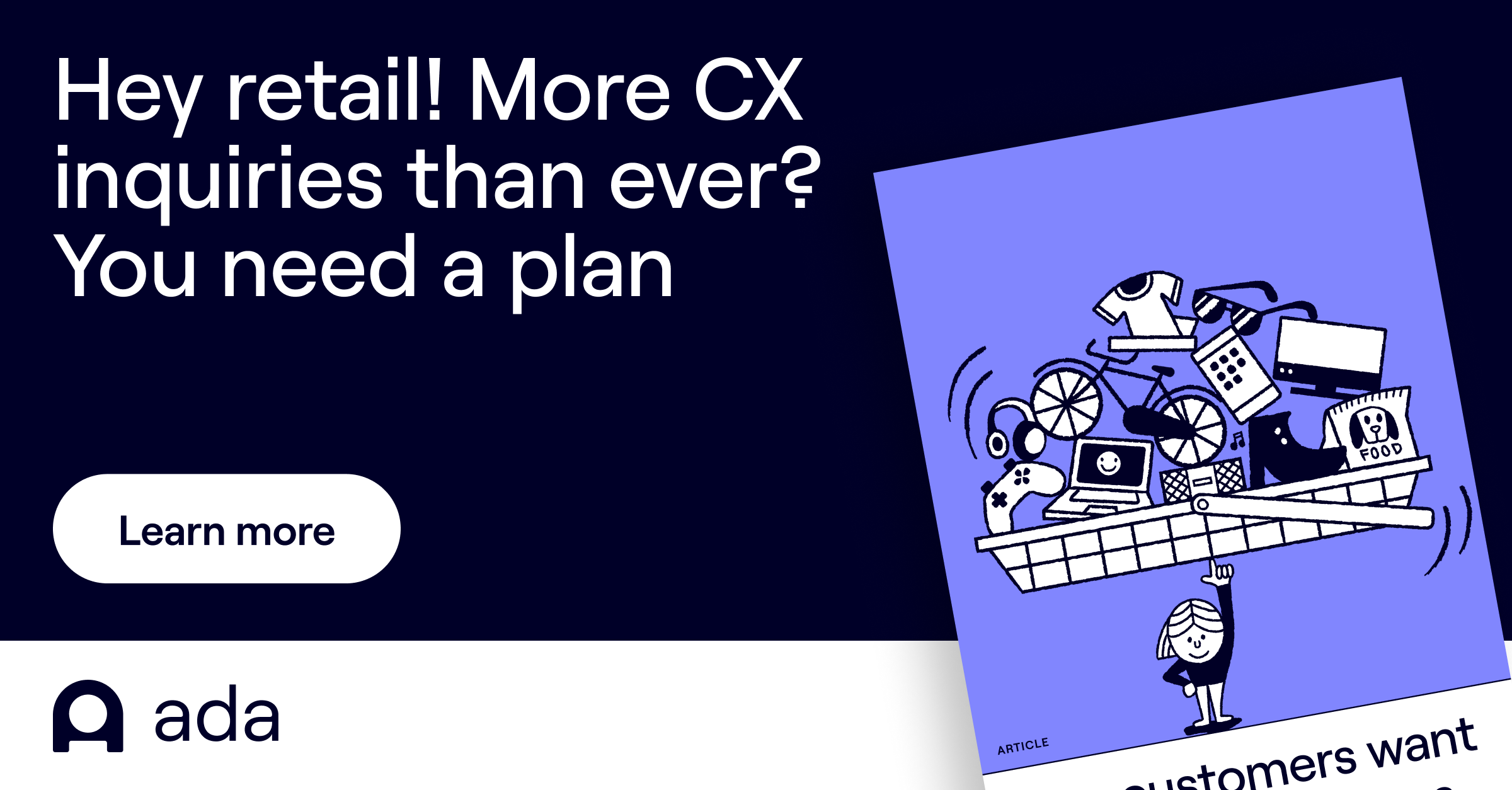 Hey Retail! More CX inquiries than ever? You need a plan